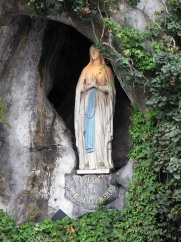 Lady of Lourdes Grotto in France