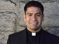 Newly supported seminarian